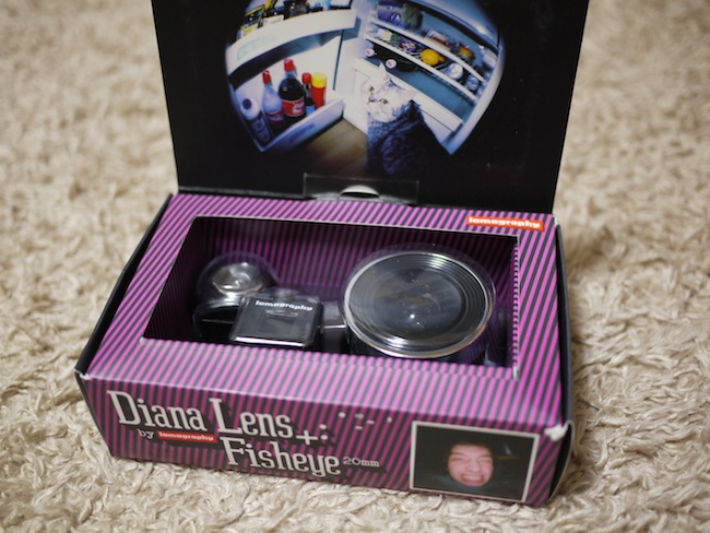 Diana+ 20mm Fisheye Lens