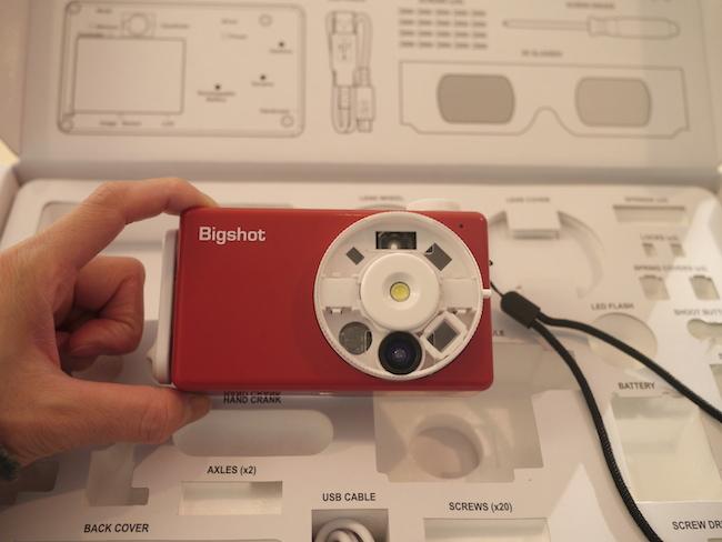 ビッグショットカメラ 完成