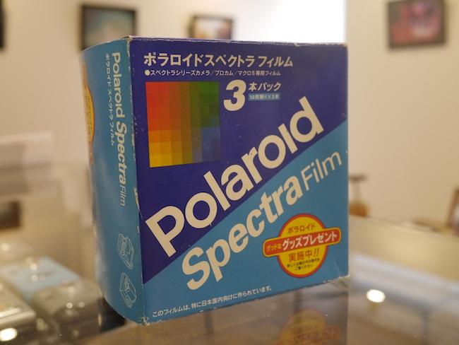 ポラロイド スペクトラ フィルム