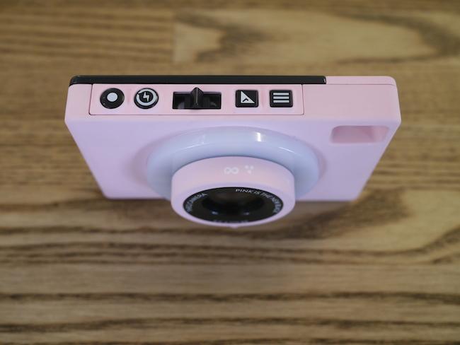 Qカメラ 上部