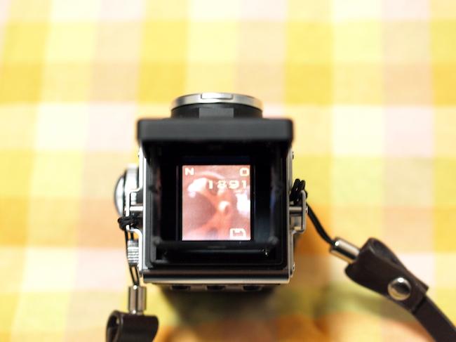 Rolleiflex MiniDigi 上部