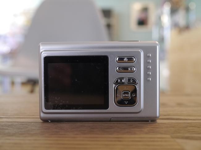 Fuze DC521 背面液晶モニター