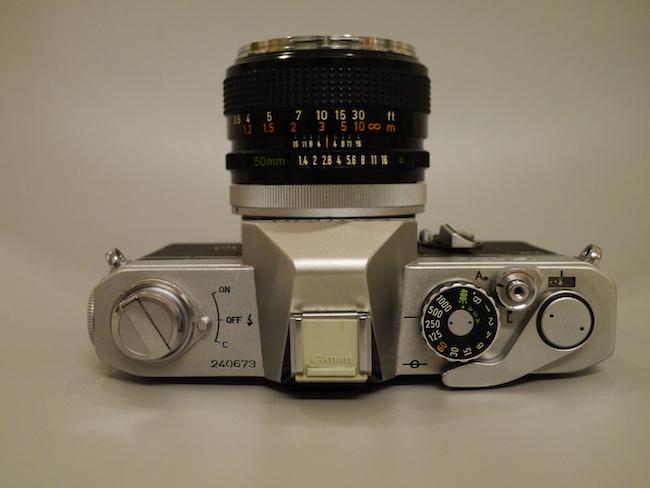 Canon FTb 上部