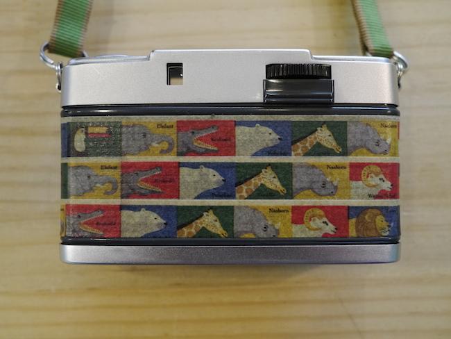 カメラ マスキングテープ