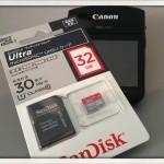 SanDisk microSDHCカード 32GB