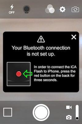 まずはBluetoothで接続