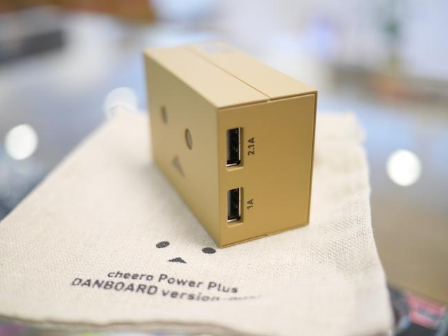 ダンボーモバイルバッテリー USB