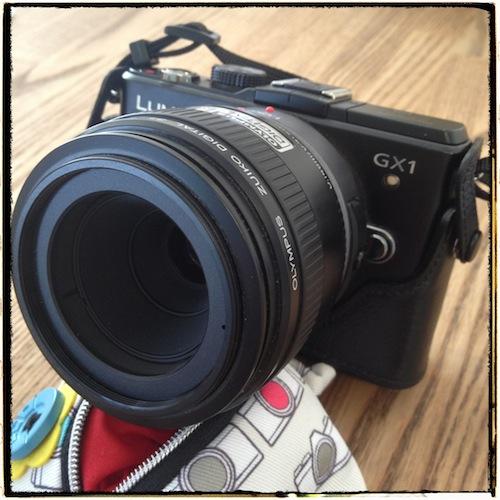DMC-GX1・ZUIKO DIGITAL 35mm F3.5 Macro