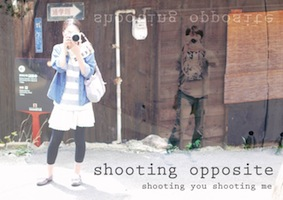 shooting opposite