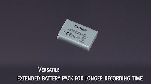 iVIS mini X バッテリー