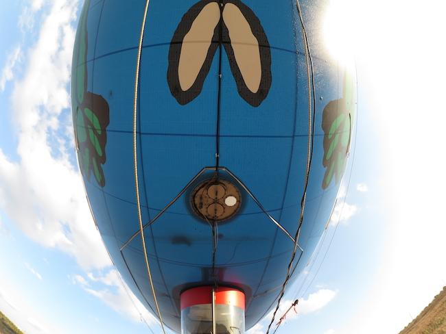 飛行船 下部