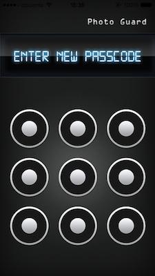 iPhone パスコード 保護