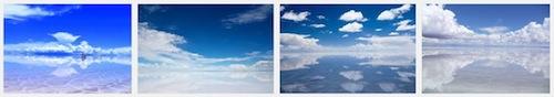 Google 画像検索 ウユニ塩湖