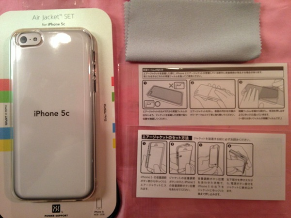エアージャケットセット for iPhone 5c
