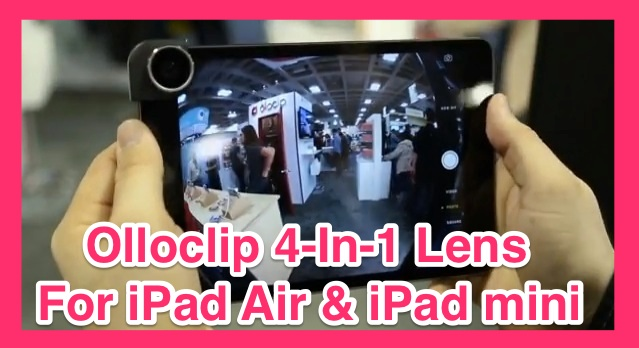 Olloclip 4-In-1 Lens For iPad Air & iPad mini