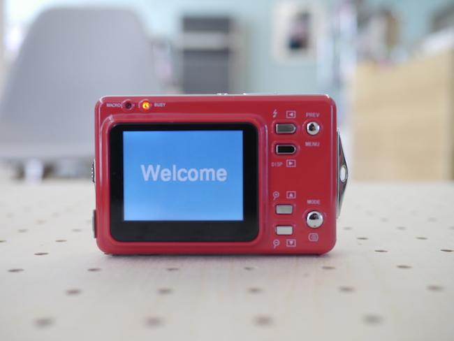 DigiCliq DC3502A 起動画面