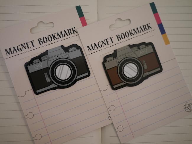 カメラ型ブックマーク