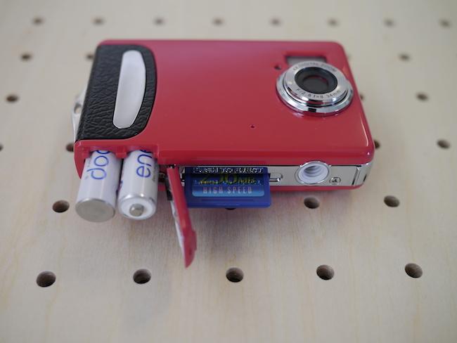 DigiCliq DC3502A 電池