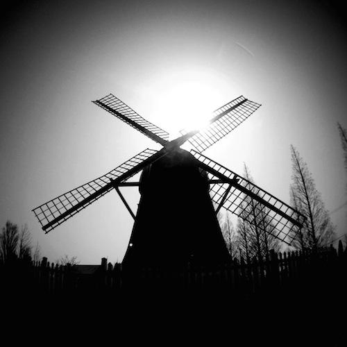 デンパーク 風車