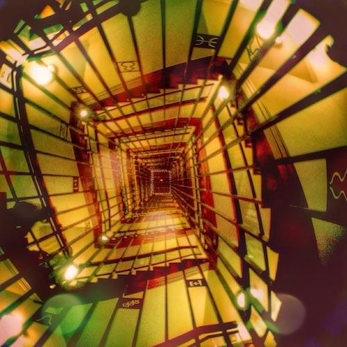 名古屋城 螺旋階段