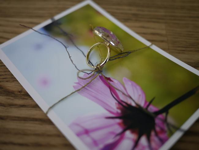 写真 指輪