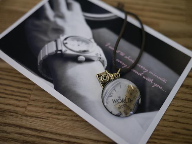 写真をネックレスに