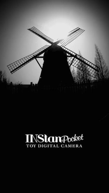 INStanPocket 起動画面