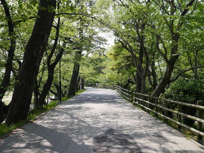 岡崎城 新緑