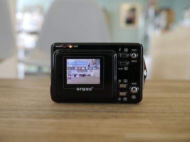 アーガス カメラ