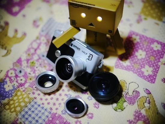 GIZMON HALF D レンズ