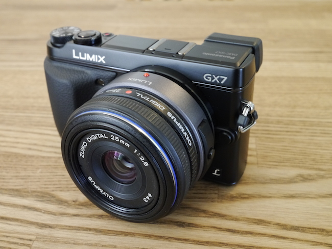 LUMIX DMC-GX7:ZUIKO DIGITAL 25mm F2.8