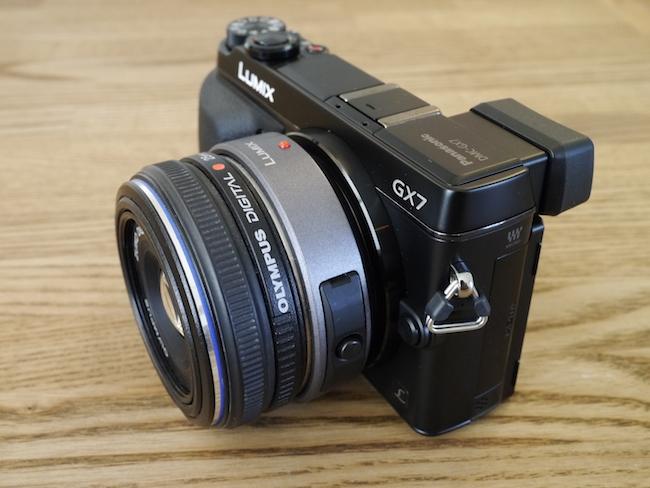LUMIX DMC-GX7:ZUIKO DIGITAL 25mm F2.8