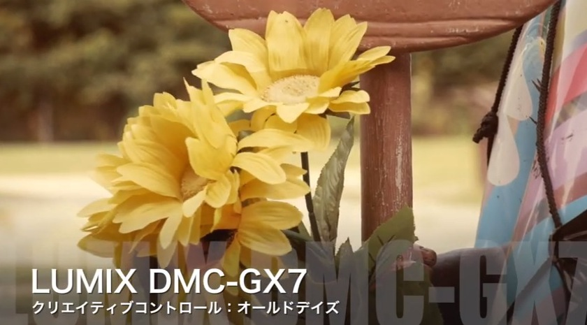 DMC-GX7 動画
