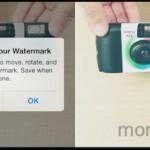 写真に透かしマーク(ウォーターマーク)を入れる時に使うアプリ