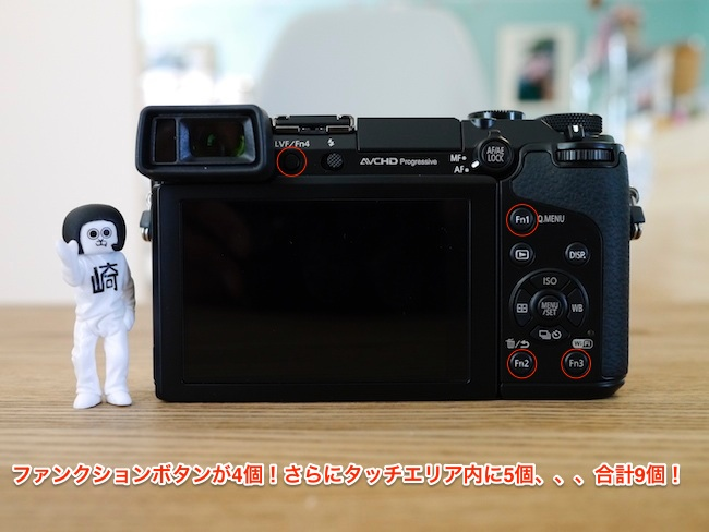 LUMIX DMC-GX7 背面