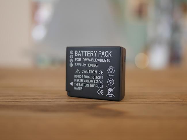 バッテリー残量 表示 GX7