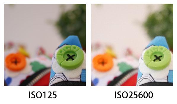 GX7 ISO感度