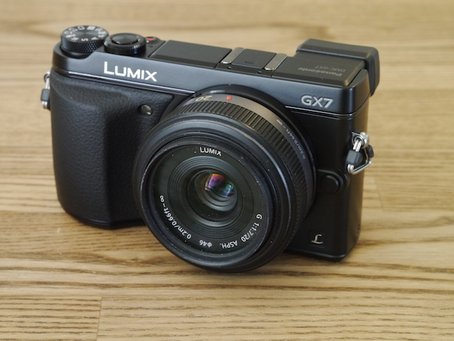 LUMIX DMC-GX7:LUMIX G 20mm F1.7 ASPH.
