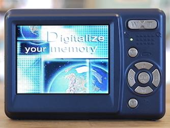 デジプロ DN50:メニュー画面