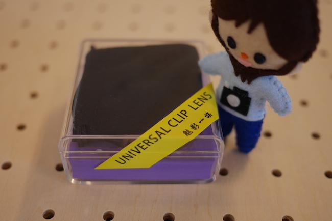 iPhone・スマホ用 クリップ型 カメラレンズキット