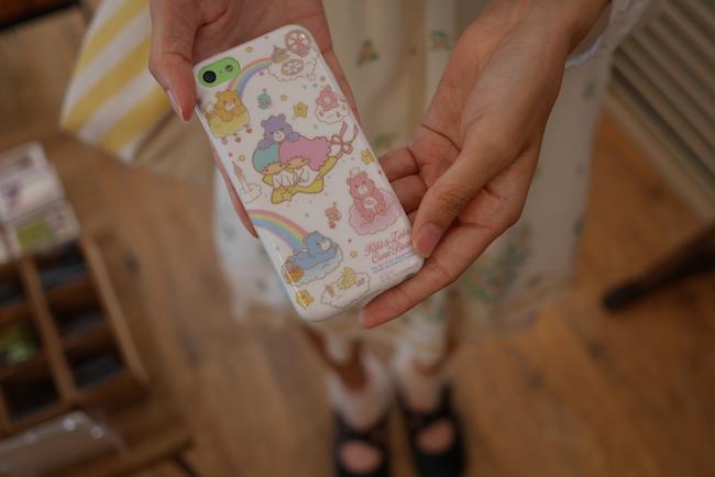 女子高生 iPhone5c  ケース