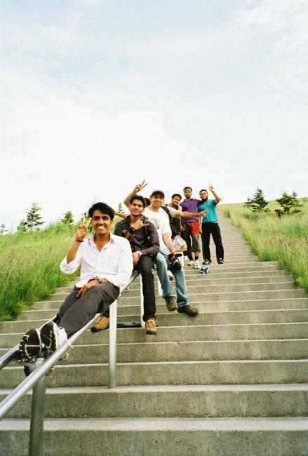 モエレ沼 階段