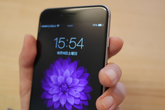 iPhone 6 Plus 電源ボタン