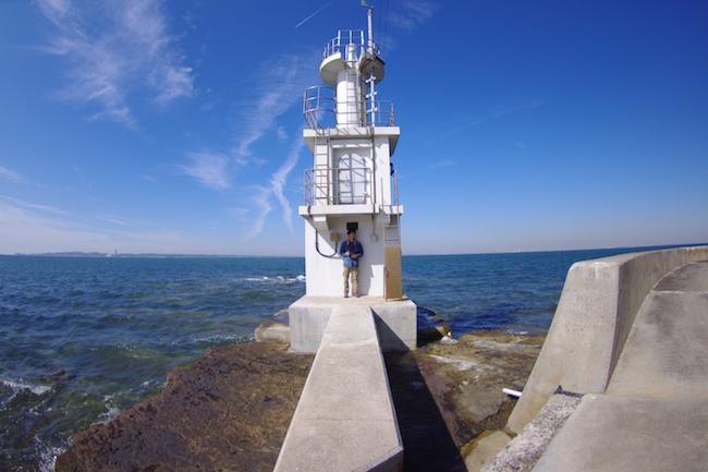 波ヶ埼:灯台