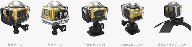 SP360 各種マウント