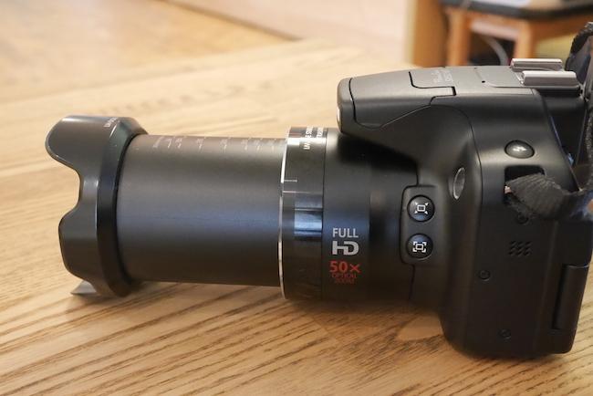 SX50HS ズーム