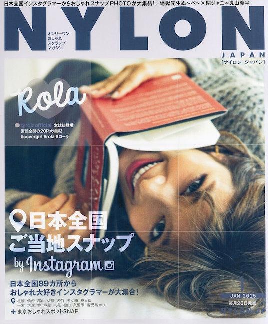 ナイロンジャパン instagram