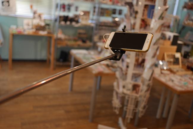iPhone 6 Plus セルカ棒