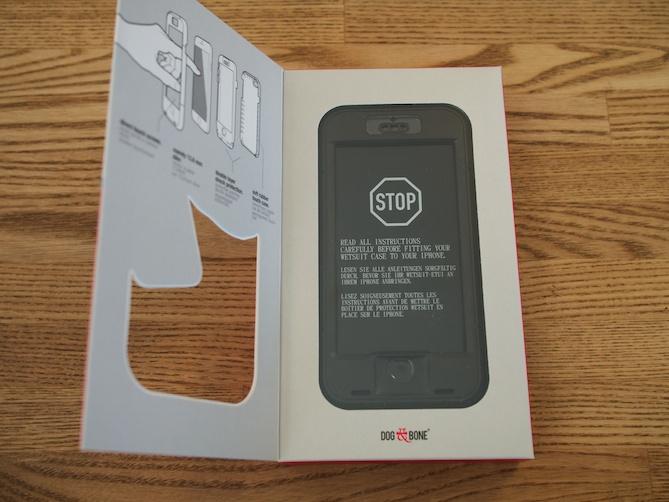 iPhone6用防水ケースWETSUIT