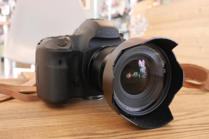 ディスタゴン 21mm/F2.8